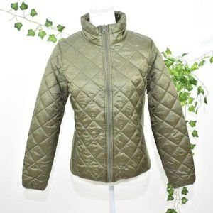 Ci Sono Cavalini green quilted Jacket L